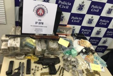 Dez pessoas são presas em operação contra o tráfico de drogas