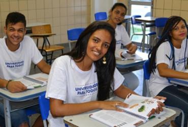 Inscrições para projeto 'Universidade para Todos' encerram nesta terça | Divulgação | GOVBA