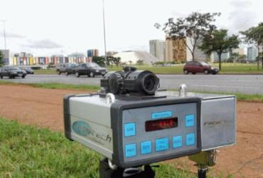 A partir de hoje, radar fixo ou portátil não poderão ficar escondidos   Foto: Agência Brasil