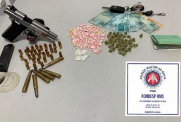 Suspeito de tráfico morre após troca de tiros com a polícia na RMS | Divulgação | SSP