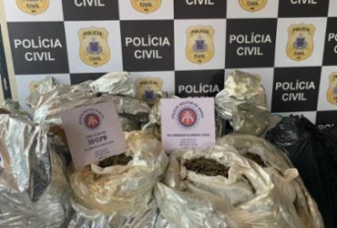 Suspeito é preso com cerca de 420 quilos de maconha em Jauá