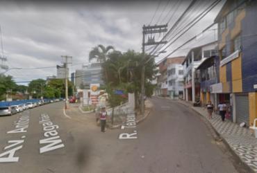Rua Teixeira Barros terá tráfego interditado na noite desta sexta para obra do BRT | Reprodução