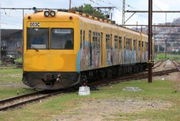 Trem descarrila no Subúrbio Ferroviário de Salvador; ninguém ficou ferido | Foto: Adilton Venegeroles | Ag. A TARDE