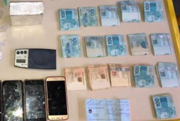 Trio é preso com drogas e R$ 15 mil em espécie em São Cristóvão | Divulgação | SSP