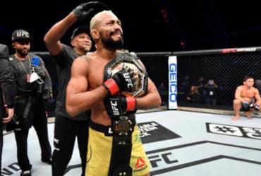 Brasileiro Deiveson Figueiredo defende cinturão pela primeira vez no UFC   Reprodução   UFC