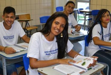 Programa Universidade para Todos prorroga inscrições até sexta | Divulgação | GOVBA