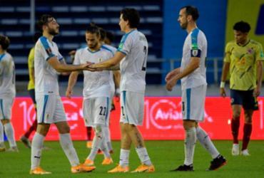 Uruguai vence a Colômbia por 3 a 0 nas Eliminatórias | Raul Arboleda | AFP