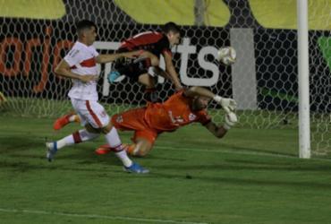 Com técnico interino, Vitória joga bem e volta a vencer no Barradão | Uendel Galter / Ag. A Tarde