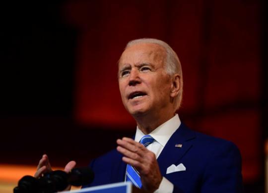 Biden diz que americanos 'não aceitarão' desrespeito aos resultados eleitorais | Mark Makela | AFP