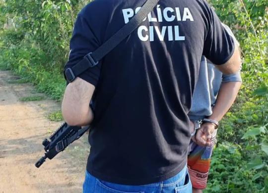 Quatro homens são presos e adolescente apreendido suspeitos de estuprar criança de 10 anos | Divulgação | Polícia Civil
