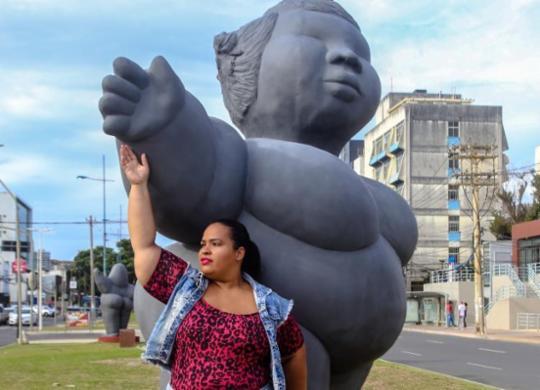 A diversidade como padrão para combater a gordofobia | Felipe Iruatã | Ag. A TARDE