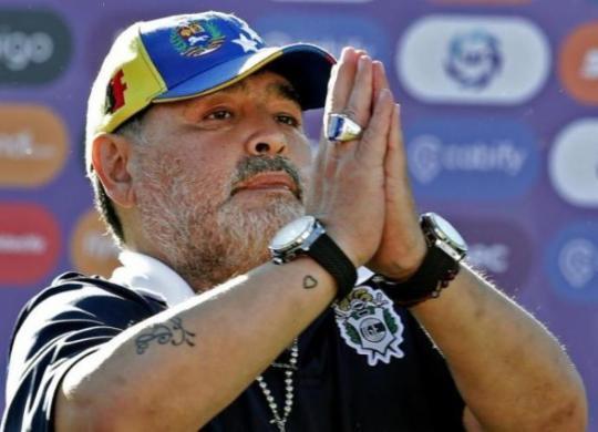 Lenda do futebol argentino, Diego Maradona morre vítima de parada cardiorrespiratória | Alejandro Pagni | AFP