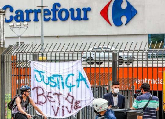 Segurança preso pela morte de João Alberto diz que não teve intenção de matar   Silvio Avila   AFP