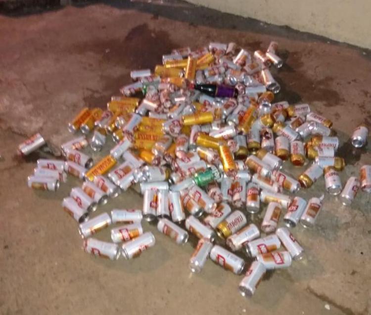 Bebidas que iriam para os detentos foram apreendidas | Foto: Divulgação | SSP - Foto: Divulgação | SSP