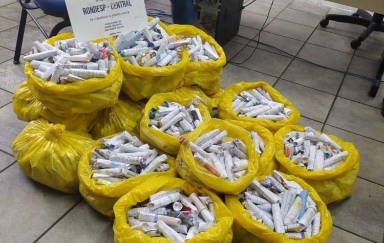 Drogas foram encontradas em imóvel na Engomadeira   Foto: Divulgação   SSP - Foto: Divulgação   SSP