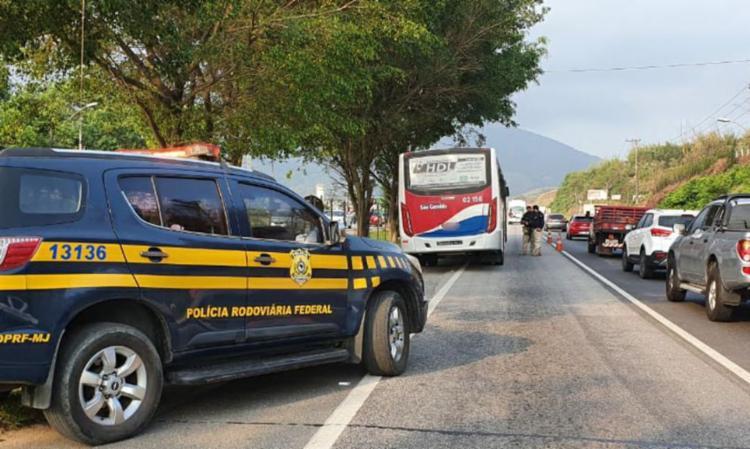 Foram registrados 858 acidentes nas estradas federais do país | Foto: Comunicação Social da PRF - Foto: Comunicação Social da PRF