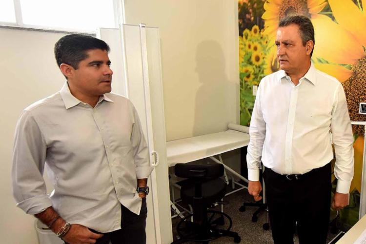 ACM Neto e Rui Costa: unidos no combate a pandemia, adversários na política - Foto: Divulgaçao