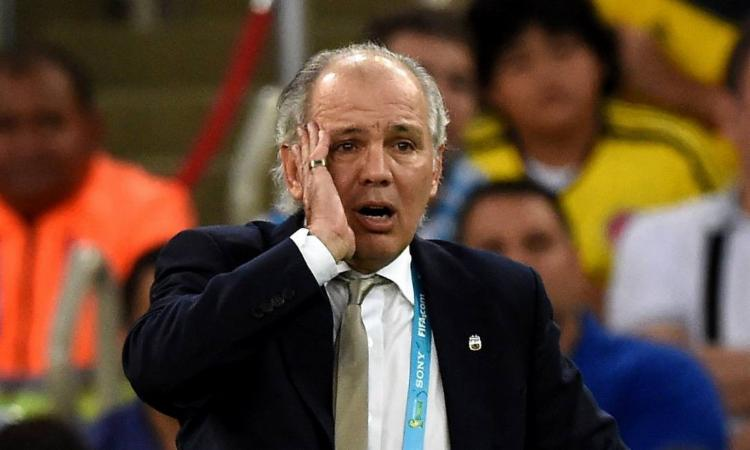 Sabella comandou a Albiceleste na Copa de 2014, disputada no Brasil | Foto: Pedro Ugarte | AFP - Foto: Pedro Ugarte | AFP