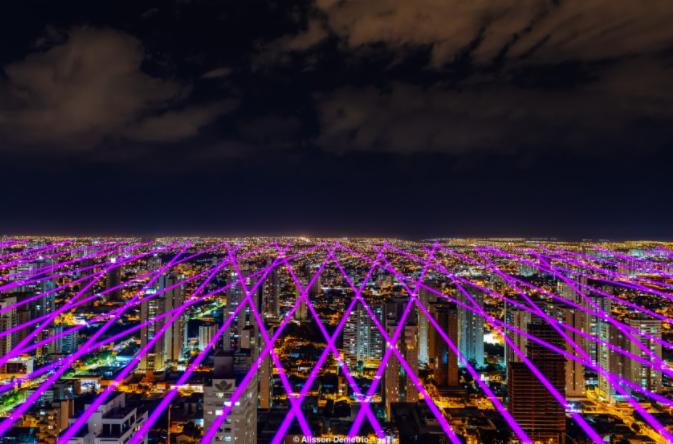 O laser irá passar por outras 9 cidades   Foto: Divulgação   Alisson Demetrio
