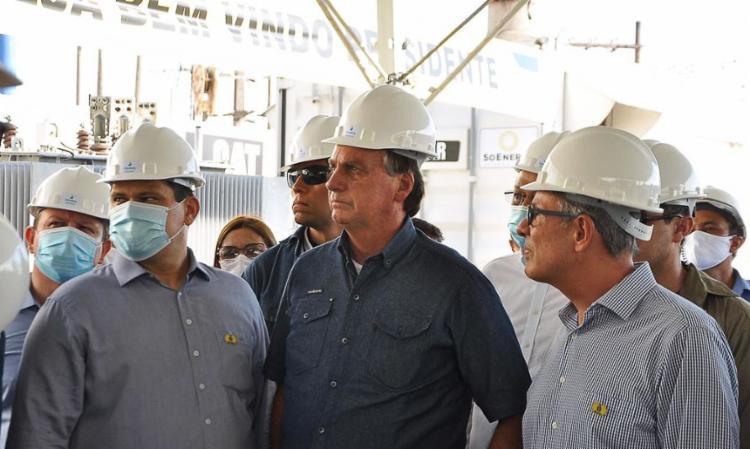Bolsonaro disse que a medida era um gesto de solidariedade com a população do estado | Foto: Divulgação | Ministério de Minas e Energia - Foto: Divulgação | Ministério de Minas e Energia