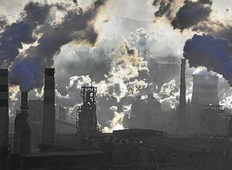 Concentração de dióxido de carbono na atmosfera aumentou e tendência segue em 2020 - Foto: Lu Guang | Greenpeace | AFP
