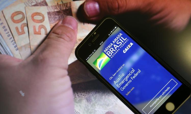 Caso a contestação seja aprovada, a extensão do auxílio emergencial será concedida no mês seguinte - Foto: Marcello Casal Jr. / Agência Brasil