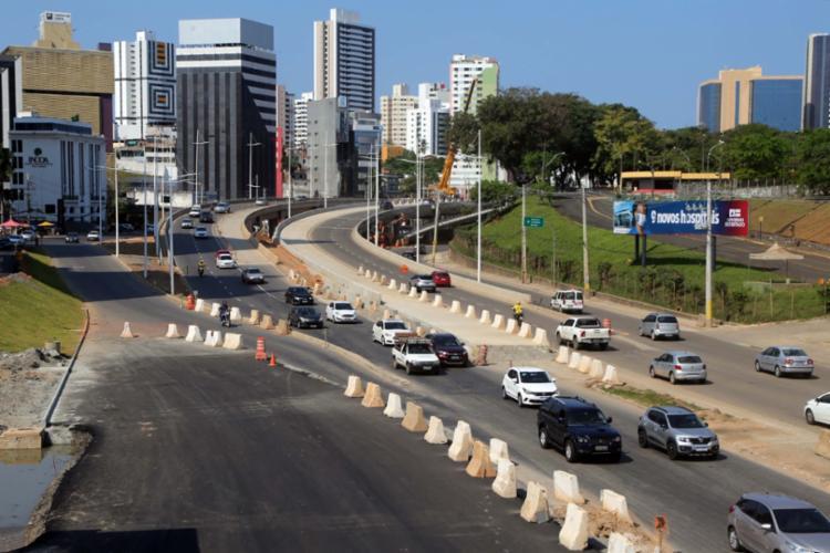 Alterações fazem parte do conceito definitivo das obras do BRT na região - Foto: Divulgação | Prefeitura de Salvador