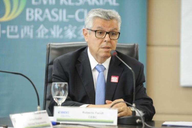 O secretário especial de Comércio Exterior e Assuntos Internacionais do Ministério da Economia, Roberto Fendt, participou da reunião em Brasília   Foto: Divulgação   CEBRI - Foto: Divulgação   CEBRI