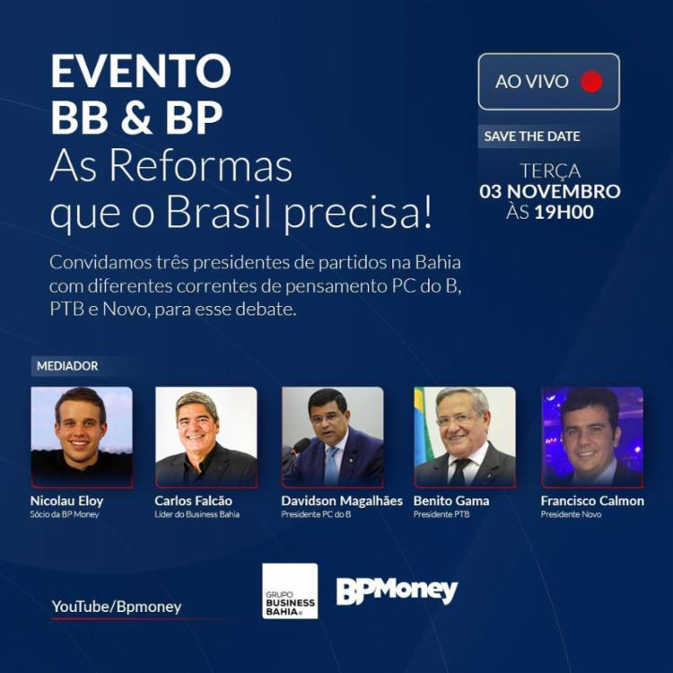 Mediação será de Nicolau Eloy, sócio da BP Money | Foto: Divulgação - Foto: Divulgação