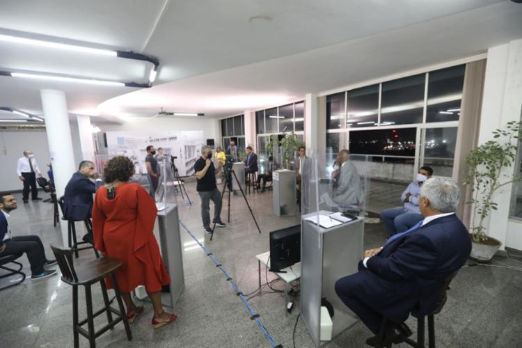Candidatos tiveram que se adaptar a uma série de protocolos sanitários durante essa campanha - Foto: Divulgação