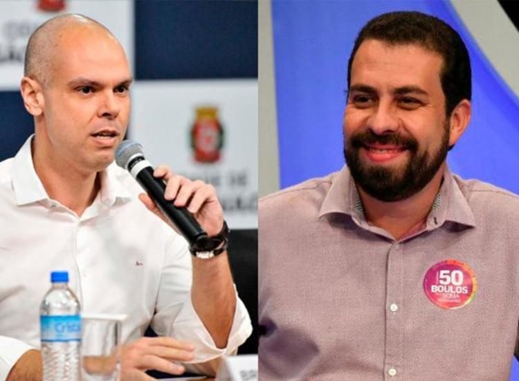 Covas teve 32,85% dos votos válidos e Boulos teve 20,24% | Fotos: Divulgação - Foto: Divulgação