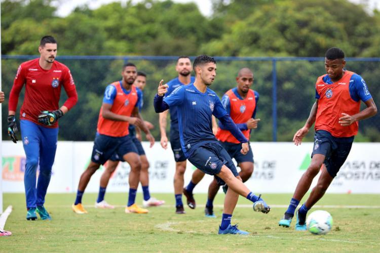 Daniel vem se destacando no meio-campo do Esquadrão | Foto: Felipe Oliveira | EC Bahia - Foto: Felipe Oliveira | EC Bahia