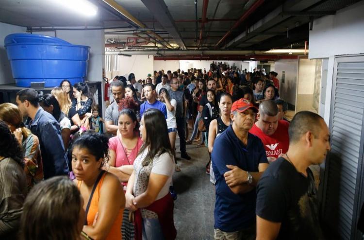 Grande número de eleitores votaram em candidatos dos partidos do centro, conforme levantamento - Foto: Tânia Rêgo | Agência Brasil