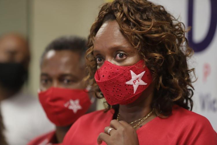 Candidata pelo PT à Prefeitura de Salvador em 2020 assumirá superintendência de Prevenção à Violência da Secretaria da Segurança Pública da Bahia (SSP-BA) - Foto: Uendel Galter | Ag. A TARDE