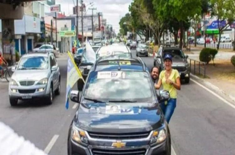 Veículo teria sido alugado na empresa Gold Car por R$ 7.500 mensais - Foto: Reprodução   Redes Sociais