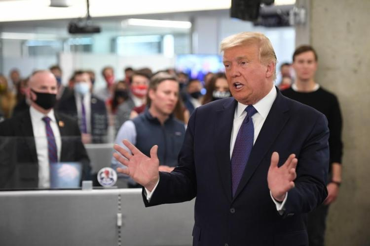 Trump iniciou uma batalha judicial em estados-chave | Foto: Saul Loeb | AFP - Foto: Saul Loeb | AFP