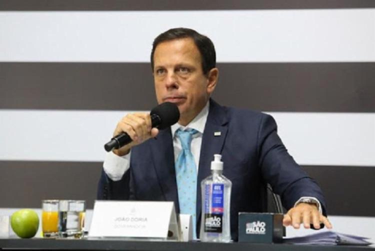 Governador de São Paulo e principal articulador para a produção da CoronaVac no país criticou o governo federal pela falta de apoio aos estados - Foto: Divulgação / Governo de São Paulo