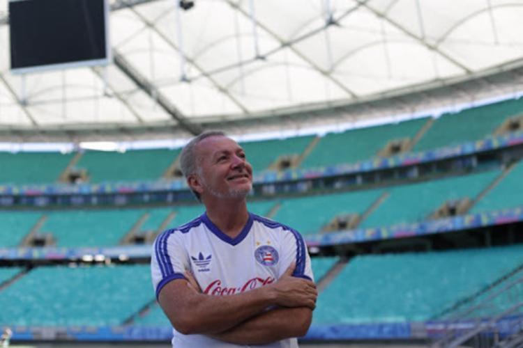 Bobô é considerado o maior ídolo da história do clube | Foto: Luciano da Matta | Ag. A TARDE - Foto: Luciano da Matta | Ag. A TARDE