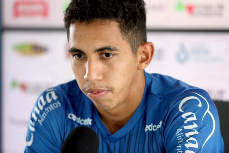 Atualmente, Fessin possui 13 jogos com a camisa do Esquadrão e três gols anotados | Foto: Felipe Oliveira | EC Bahia - Foto: Felipe Oliveira | EC Bahia
