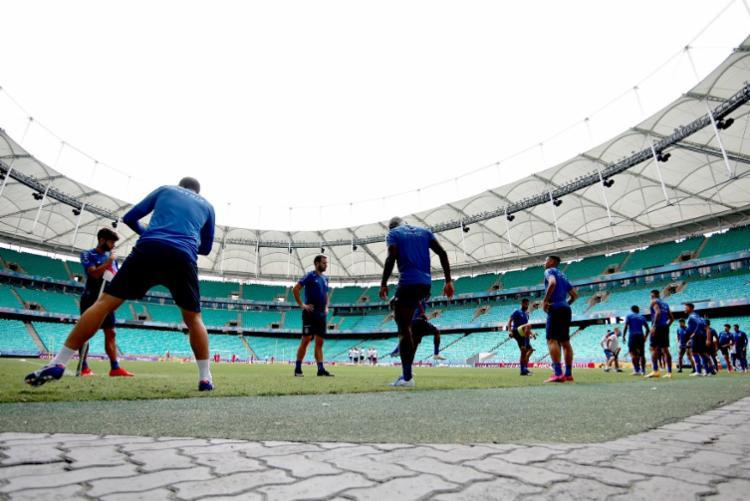 A Fonte Nova será o palco do jogo decisivo diante do Melgar-PER, pela segunda fase da Copa Sul-Americana   Foto: Felipe Oliveira   EC Bahia - Foto: Felipe Oliveira   EC Bahia