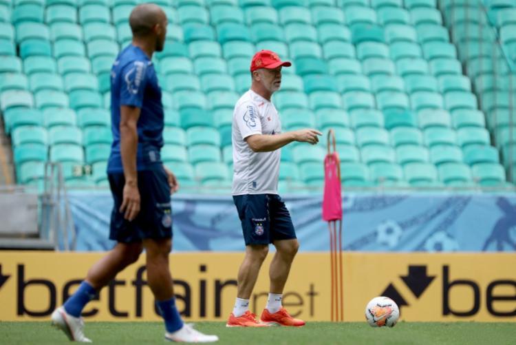Mano tenta conduzir time a mais um triunfo na Fonte Nova | Foto: Felipe Oliveira | EC Bahia - Foto: Felipe Oliveira | EC Bahia