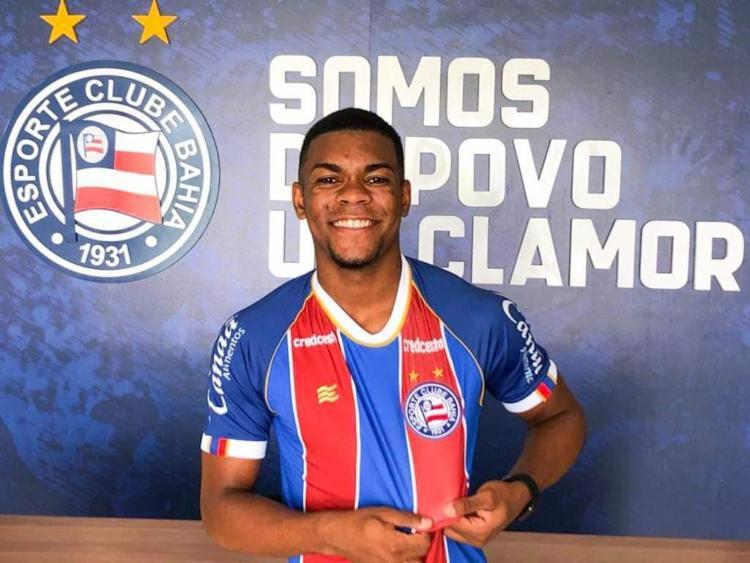 Atacante é o primeiro nome para o time de transição | Foto: Divulgação | E.C.Bahia - Foto: Divulgação | E.C.Bahia