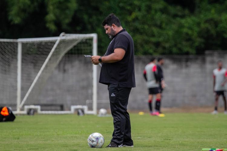 Treinador garantiu que manterá postura contra Ponte | Foto: Letícia Martins | E.C.Vitória - Foto: Letícia Martins | E.C.Vitória