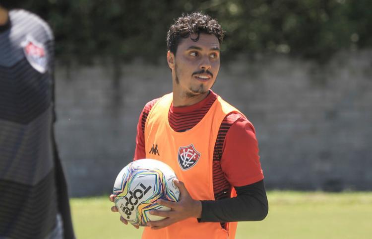 Alisson Farias deu sequência na fase de transição | Foto: Letícia Martins | EC Vitória - Foto: Letícia Martins | EC Vitória