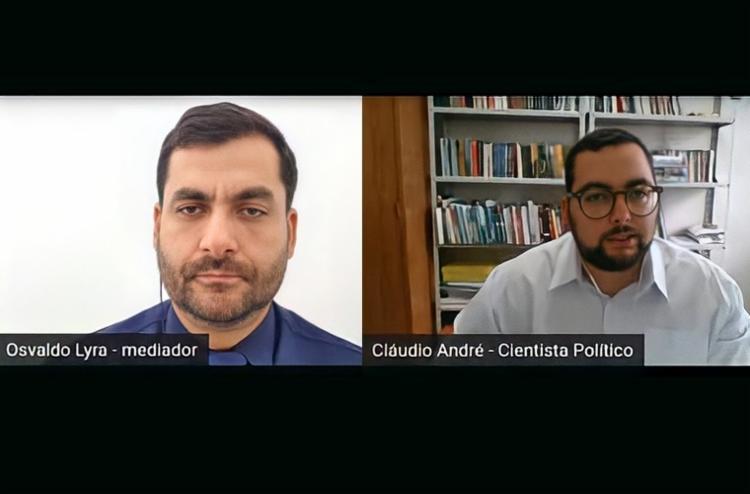 Cláudio fez uma análise do crescimento de alguns partidos, a exemplo do PSD, que é comandado pelo senador Otto Alencar - Foto: Reprodução | YouTube