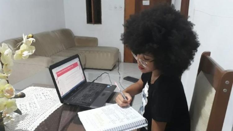 Ação busca auxiliar os estudantes na preparação para o Exame Nacional do Ensino Médio (Enem) 2020 | Foto: Ascom | Secretaria da Educação do Estado - Foto: Ascom | Secretaria da Educação do Estado