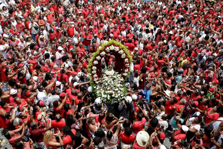 Celebração inicia o calendário de festas em Salvador | Foto: Raul Spinassé | Ag. A TARDE - Foto: Raul Spinassé | Ag. A TARDE