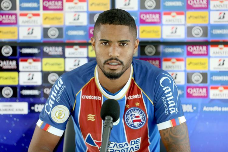 Gabriel Novaes está regularizado e já pode estrear pelo Tricolor   Foto: Felipe Oliveira   EC Bahia - Foto: Felipe Oliveira   EC Bahia