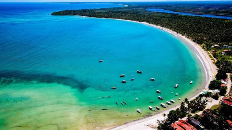 Localizado na Costa do Dendê, Garapuá é um dos mais belos destinos turísticos da Bahia - Foto: Divulgação