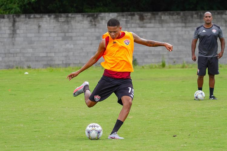 Guilherme Rend soma dois gols na temporada | Foto: Letícia Martins | EC Vitória - Foto: Letícia Martins | EC Vitória